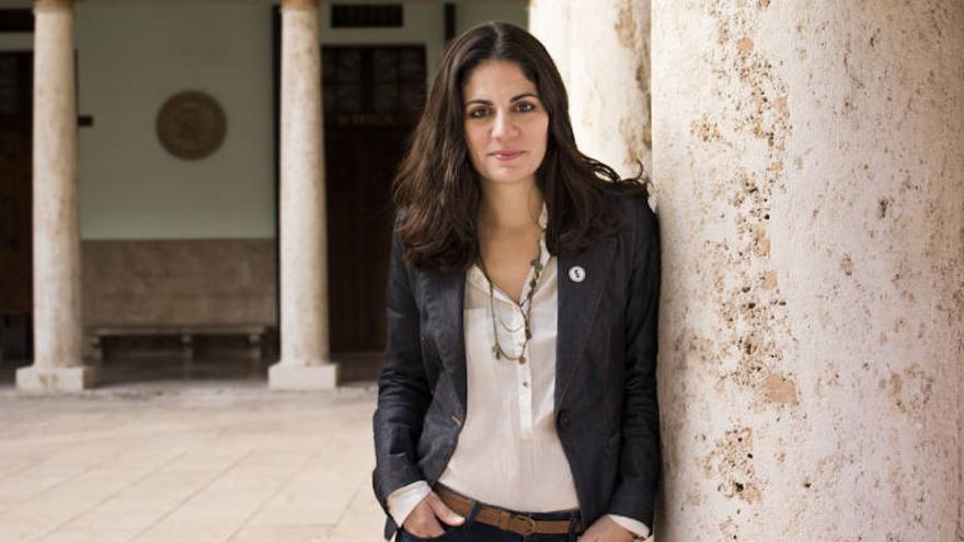 Sara Mansanet, directora del festival de mediometrajes 'La Cabina'