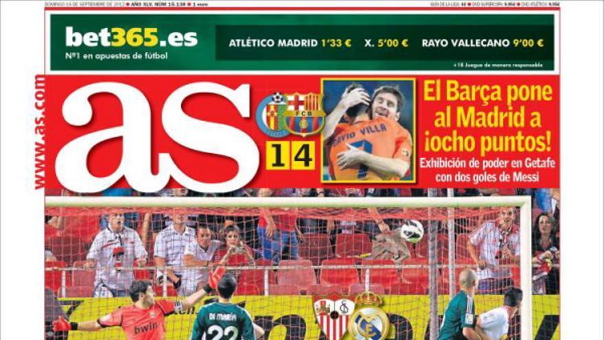 De las portadas del día (16/09/2012) #12