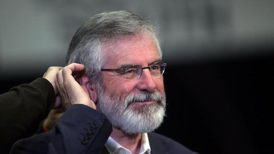 El ya exdirigente del Sinn Féin, Gerry Adams