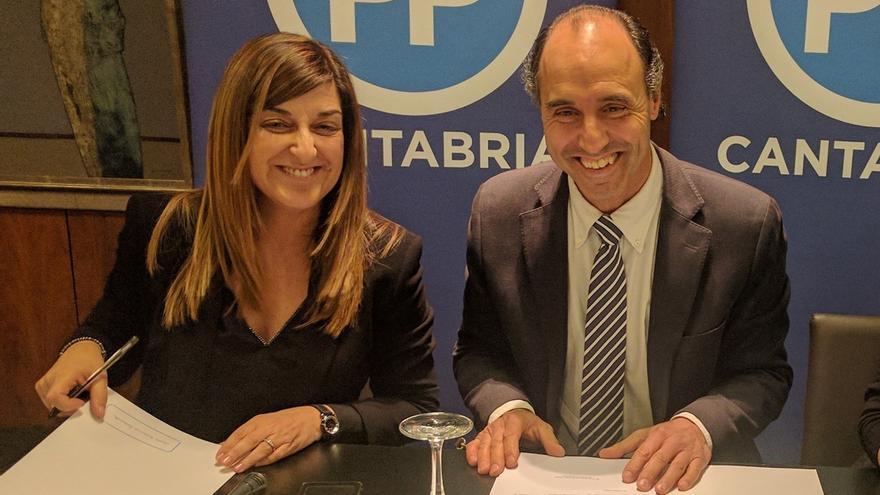 """Maíllo dice que la crisis interna abierta en el PP de Cantabria está en vía de solucionarse: """"Yo soy optimista"""""""