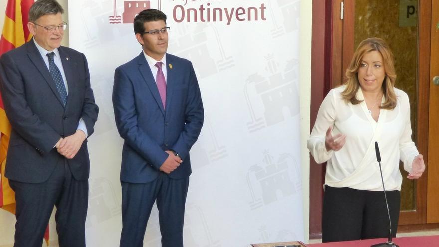 """Susana Díaz llama a reforzar los lazos de convivencia y la """"defensa de las raíces"""" entre CCAA"""