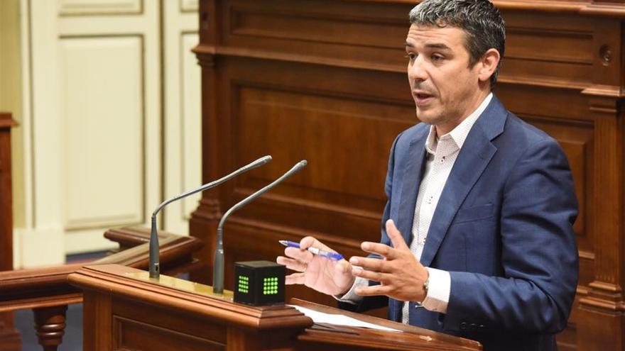 Narvay Quintero, en una intervención en la Cámara regional
