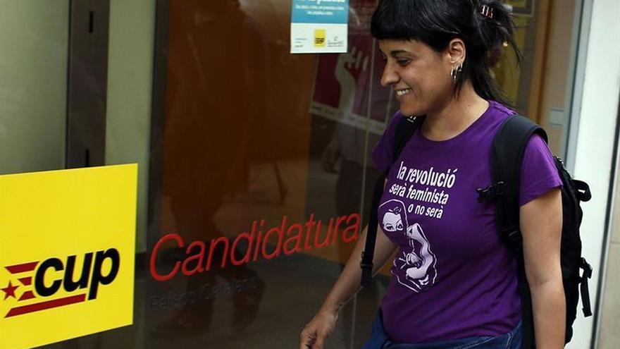 Anna Gabriel anuncia que la CUP apoyará a Puigdemont en cuestión de confianza