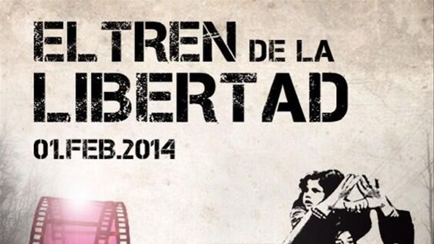 Cartel del documental 'El tren de la libertad'