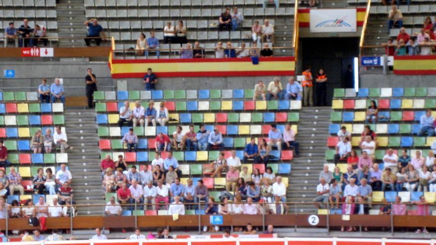 Las corridas de toros que se organizan cada verano en A Coruña tienen una pobre asistencia de público