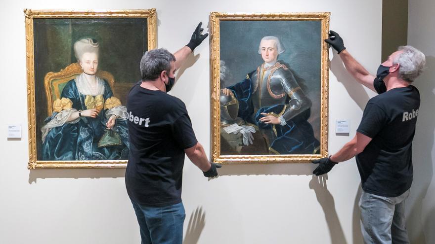 Dos retratos inéditos de los Bayeu se incorporan al Museo Goya de Zaragoza