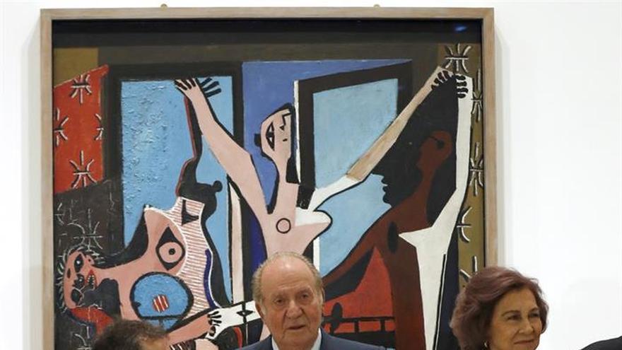 """Los reyes Juan Carlos y Sofía se reencuentran con el """"Guernica"""""""