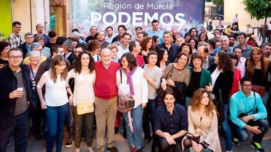 Podemos región de Murcia se prepara para las elecciones generales del 20-D