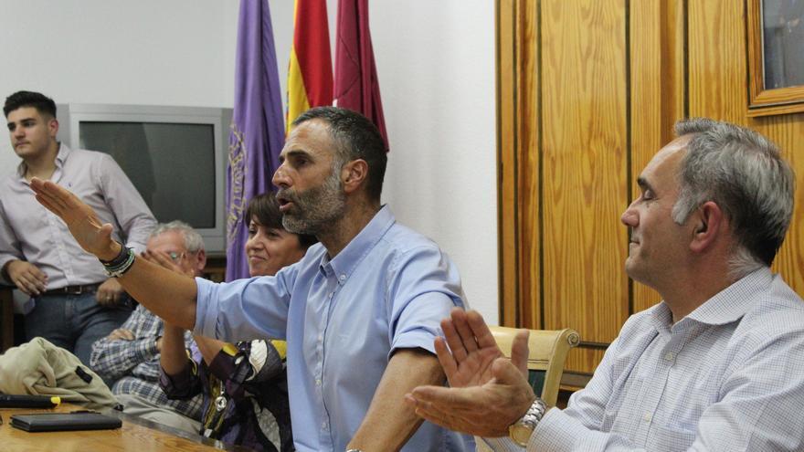 Rafael Fernández Lomana en un acto de Vox en Albacete