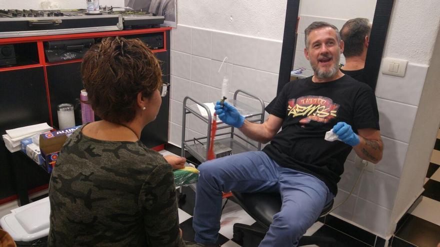 Jaime Muñoz Zafra, propietario de Lems Tattoo.