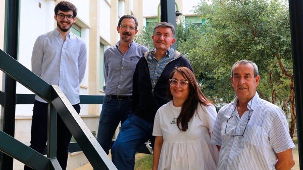 Miembros del grupo de Fisiología de la UCO de esta investigación.