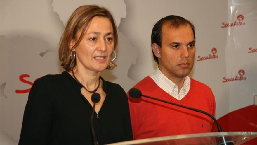 Mariluz Rodríguez y Pablo Bellido el pasado mes de diciembre / PSOE