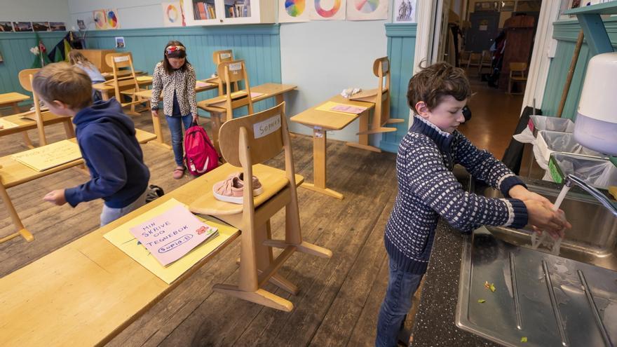 Los países nórdicos abren el curso escolar con menos restricciones y recelo por los rebrotes