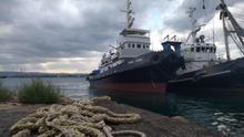 El barco Mare Jonio, de la misión Mediterranea.