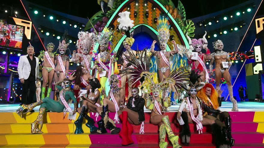 Grimassira Maeva abrirá una gala Drag Queen con dieciséis participantes