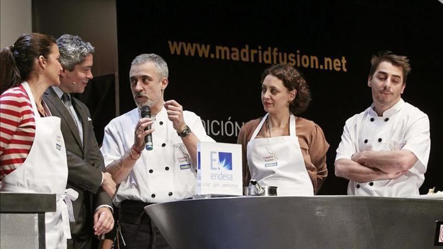 Más de un centenar de chefs de Europa y América protagonizan Madrid Fusión