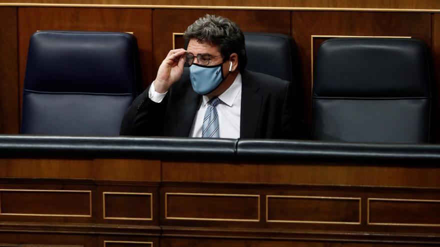 El ministro de Inclusión, Seguridad Social y Migraciones, Jose Luis Escrivá.
