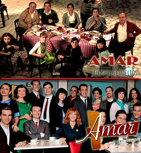 Así terminó 'Amar en tiempos revueltos' en TVE y así se descubre 'Amar es para siempre' en Antena 3