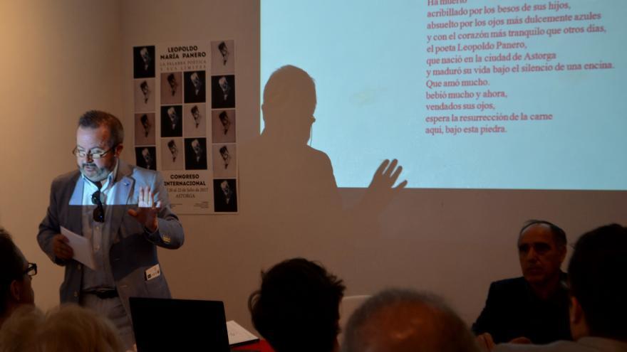 Última jornada del I Congreso Internacional de poesía sobre Leopoldo María Panero.