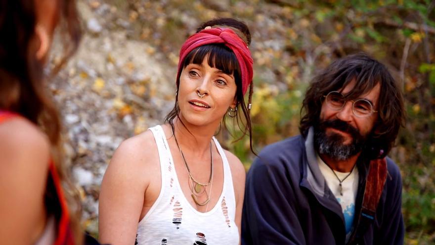 Ingrid Rubio y Santi Millán en El Pueblo
