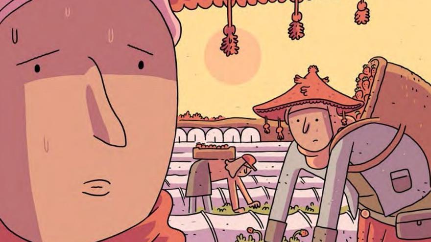 Dibujo de una campaña de Intermón Oxfam / Ilustraciones de Álvaro Ortiz.
