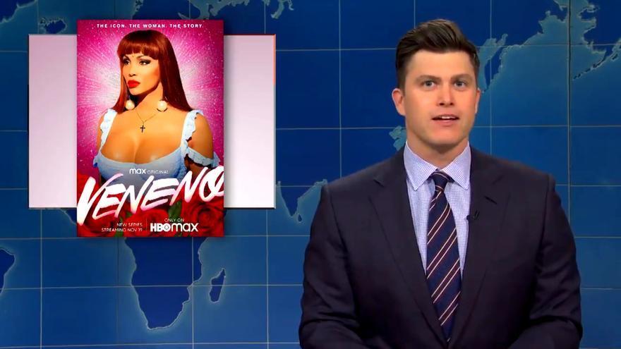 El cartel de 'Veneno' en 'SNL'