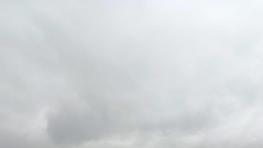 Cielo nublado en Euskadi.