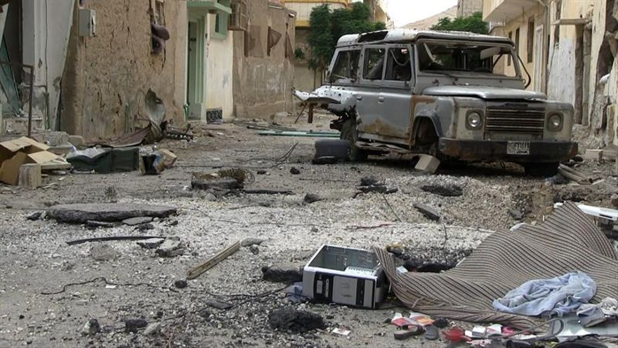 El EI se retira de Palmira, tras una noche de intensos bombardeos rusos