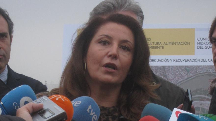 """Delegada del Gobierno defiende la gestión de Cañete y pide a Junta que deje de utilizar la PAC como """"arma arrojadiza"""""""