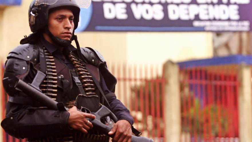 Un militar en Nicaragua