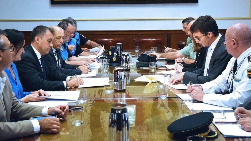 Reunión de la Junta Local de Seguridad celebrada este lunes en Santa Cruz