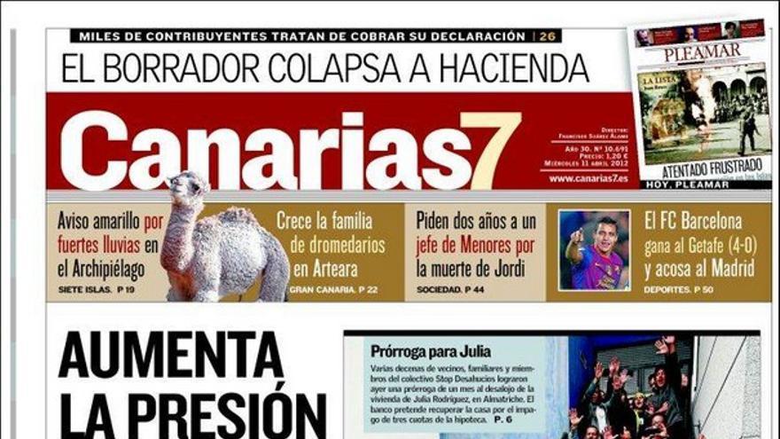 De las portadas del día (11/04/2012) #2