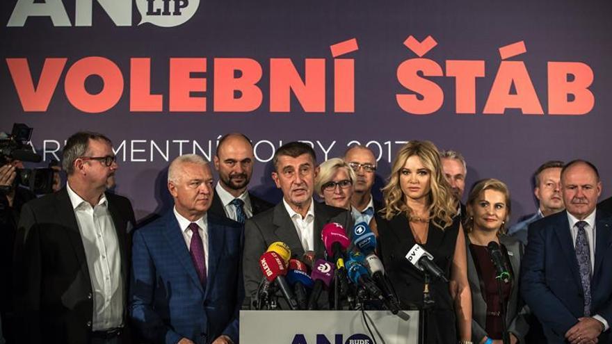 El presidente checo encargará al magnate Andrej Babis la formación de Gobierno