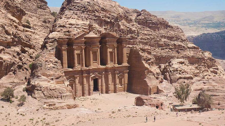 Ad Deir, El Monasterio de Petra, Jordania