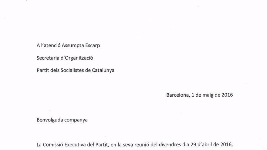 Batet y Martí oficializan su candidatura para encabezar la lista del PSC en las generales