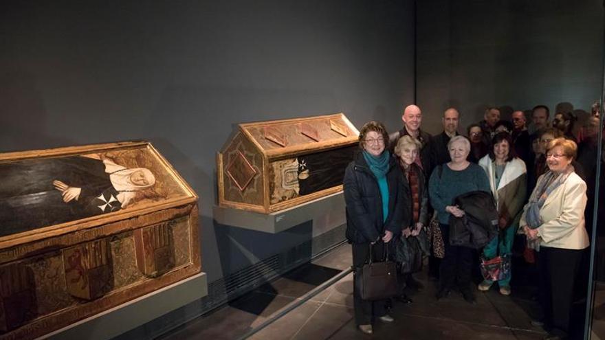 Todo listo en Aragón para la recepción en Sijena de las 44 piezas de Lérida
