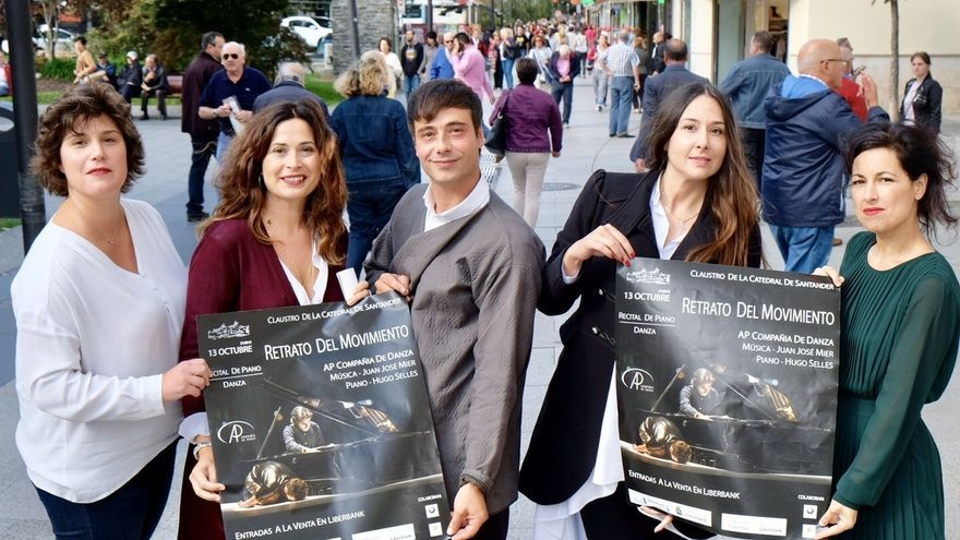 El Claustro de la Catedral acogerá el espectáculo 'Retrato del Movimiento', inspirado en Juanjo Mier