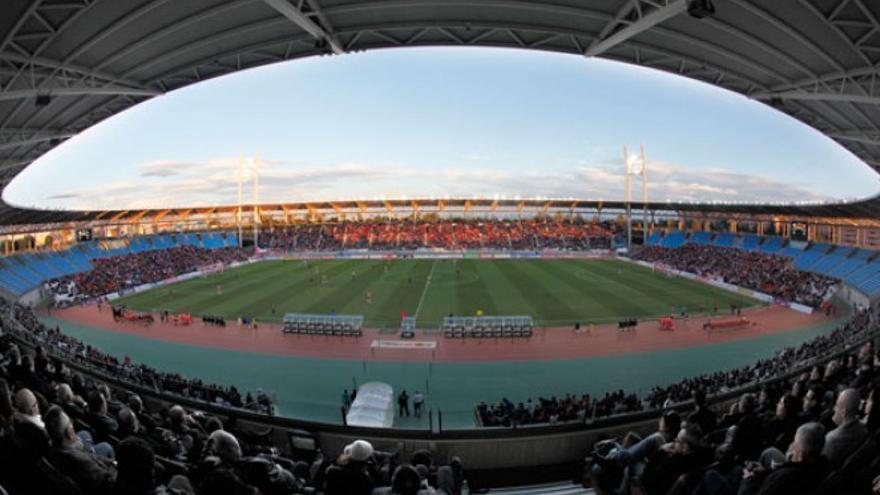 Estadio de los Juegos Mediterráneos, feudo de la UD Almería. Cedida