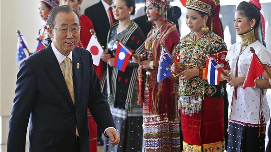"""Ban Ki-moon espera un """"rápido retorno"""" de la democracia en Tailandia"""