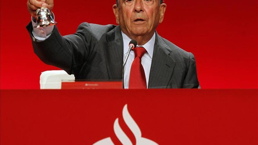 El Santander ganó 1.303 millones hasta marzo, el 8 por ciento más, por el incremento de ingresos