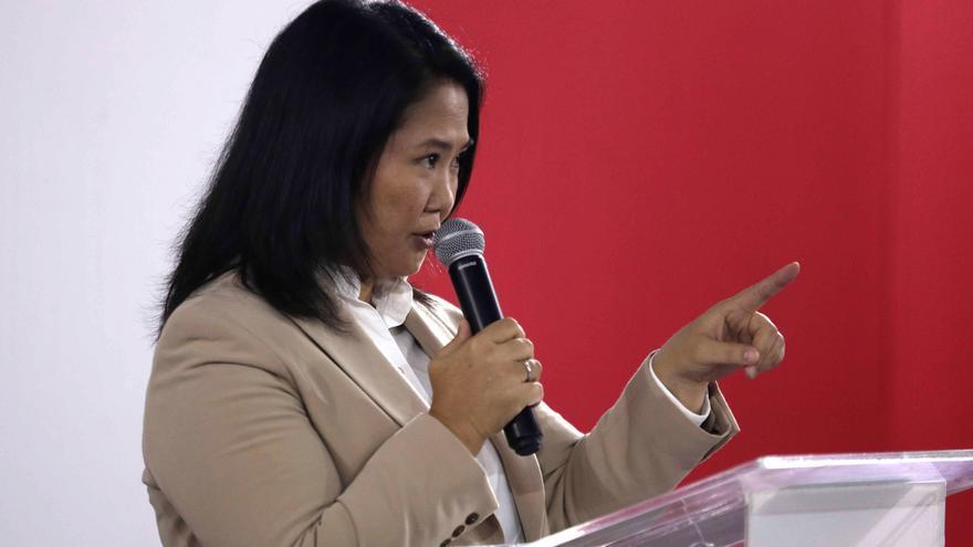 Keiko Fujimori, con futuro incierto al perder tres elecciones presidenciales