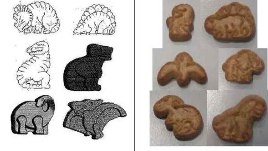 La sentencia compara ambas galletas