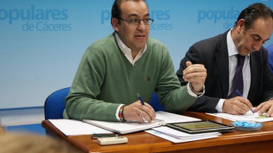 Rafael Mateos, PP Cáceres
