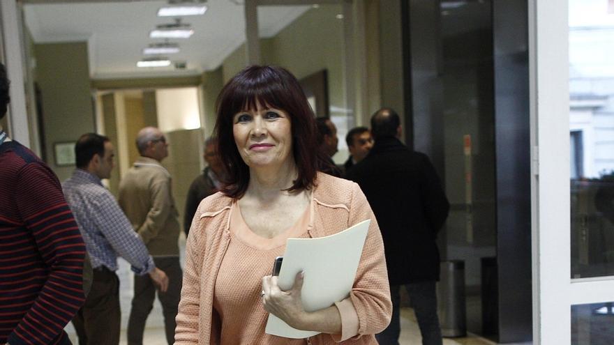 Micaela Navarro, vicepresidenta segunda de la Mesa de la Diputación Permanente del Congreso