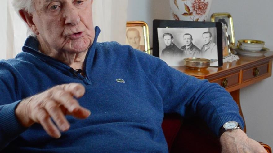 Ramiro Santisteban estuvo casi cinco años compartiendo cautiverio en Mauthausen / Carlos Hernández