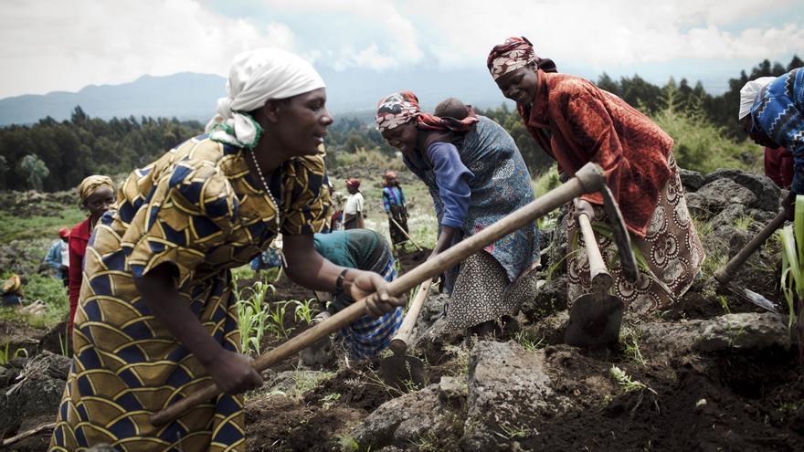Ayuda en Acción trabaja por los derechos de las mujeres y la igualdad de género. Foto: Greg Funnell/Action Aid
