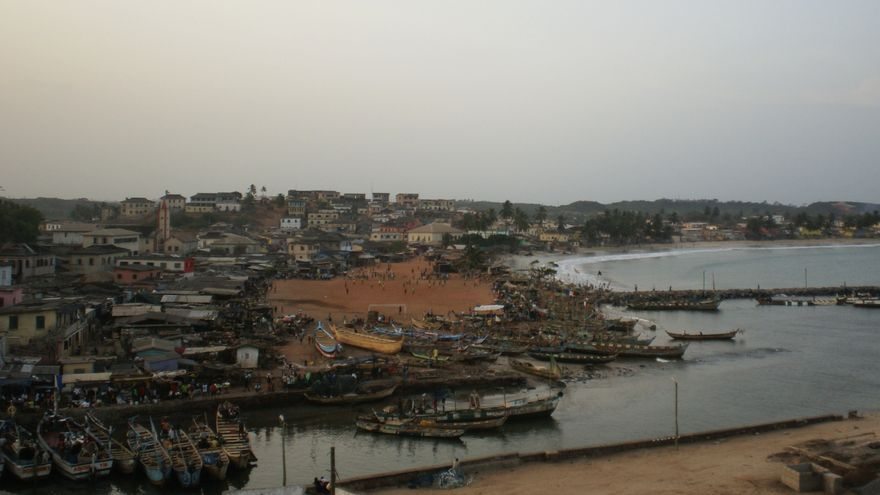 Paisaje costero de Ghana, uno de los países más estables del África occidental / Guillaume Coline