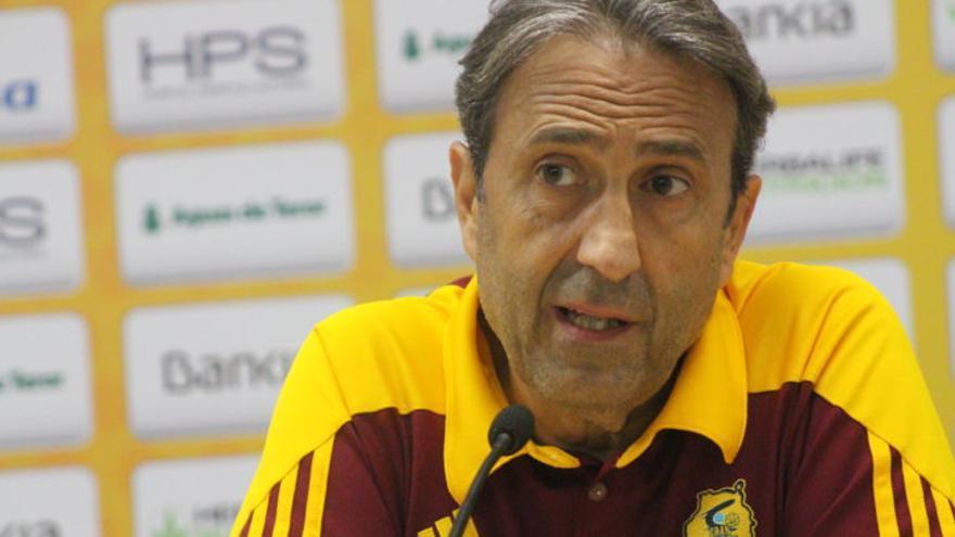 Luis Casimiro, entrenador del Gran Canaria.