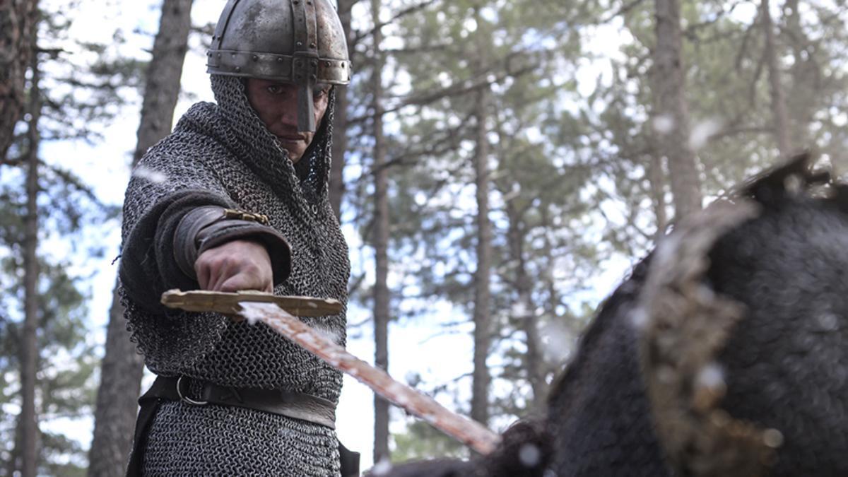 Jaime Lorente, en la segunda temporada de 'El Cid'