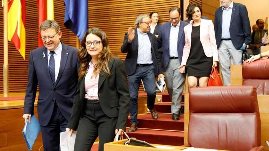 Oltra: El Gobierno valenciano atiende a la dependencia, no a la independencia